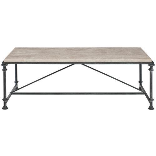 Galesbury Rectangular Metal Cocktail Table