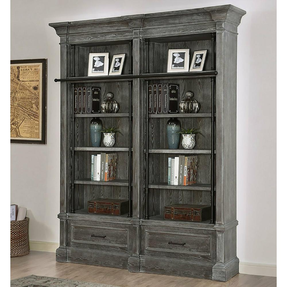 See Details - GRAMERCY PARK 2 piece Museum Bookcase (9030 and 9031)