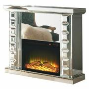 ACME Dominic Fireplace - 90202 - Mirrored Product Image