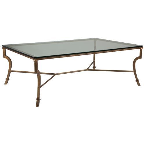 Syrah Large Rectangular Cocktail Table