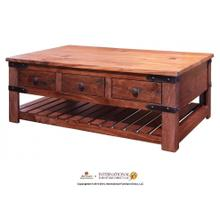 View Product - Cocktail Table w/6 Drawers