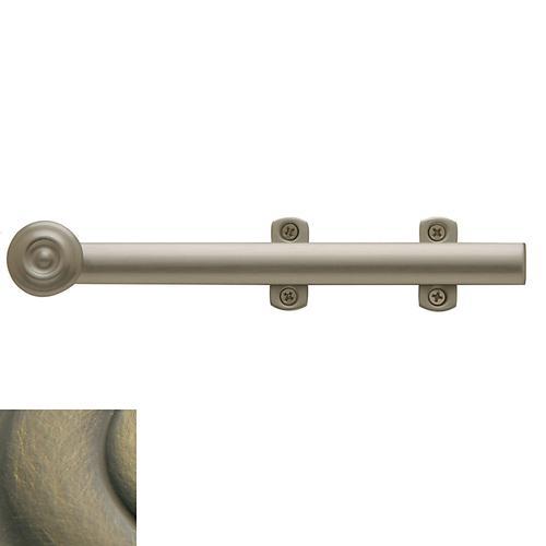 Baldwin - Satin Brass and Black Decorative Heavy Duty Surface Bolt