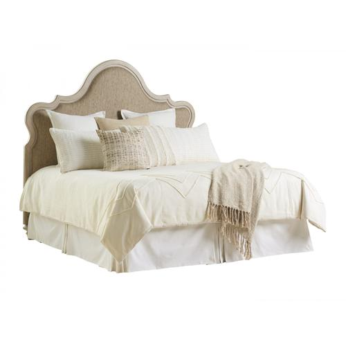Zuma Upholstered Panel Bed King Headboard