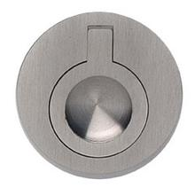 Product Image - Round Drop Ring in US15 (Satin Nickel Plated, Lacquered)
