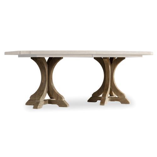 Hooker Furniture - Rectangle Pedestal Dining Base