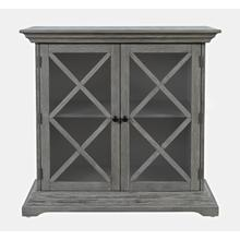Carrington Accent Cabinet - Grey