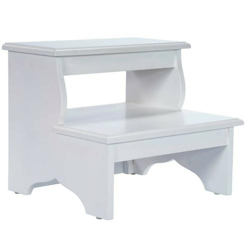 Butler Specialty Company - This artisan-crafted step stool was designed to provide that extra step-up. Equally well-suited for use beside the bed, in the den or kitchen, it may be used wherever a little extra reach is needed. It is crafted from select hardwood solids, wood products and choice cherry veneers.