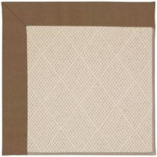 "Creative Concepts-White Wicker Canvas Cocoa - Rectangle - 24"" x 36"""