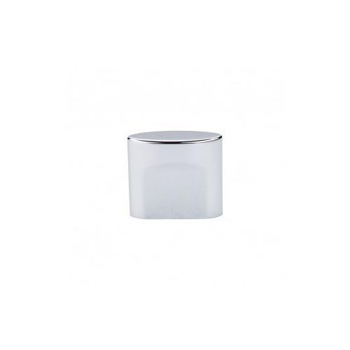 Oval Slot Knob 3/4 Inch (c-c) - Polished Chrome