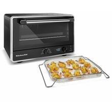 See Details - Digital Countertop Oven With Air Fry - Black Matte