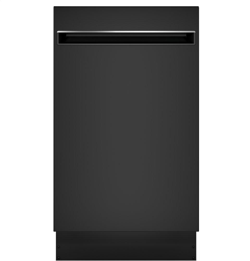 "GE Profile18"" Ada Compliant Stainless Steel Interior Dishwasher With Sanitize Cycle"