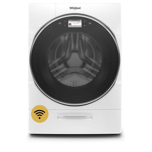 Whirlpool - 5.0 cu. ft. Smart Front Load Washer with Load & Go™ XL Plus Dispenser