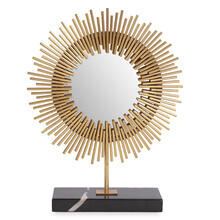 Ra Sunburst Table Mirror