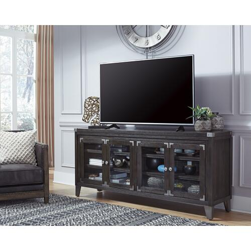 Todoe Extra Large TV Stand Gray
