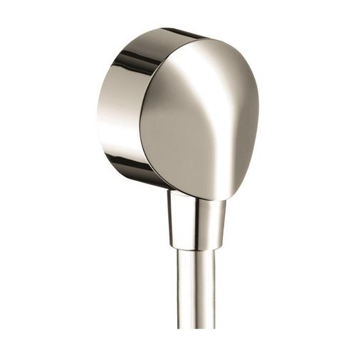 Polished Nickel Wall Outlet with Check Valves
