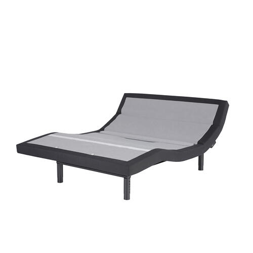 Prodigy Comfort Elite Adjustable Bed Base with Lumbar Support, Black Finish, Split King