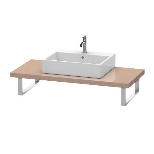 Product Image - Console For Above-counter Basin And Vanity Basin, Cappuccino High Gloss (lacquer)