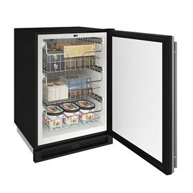 "24"" Convertible Freezer With Stainless Solid Finish (115 V/60 Hz Volts /60 Hz Hz)"