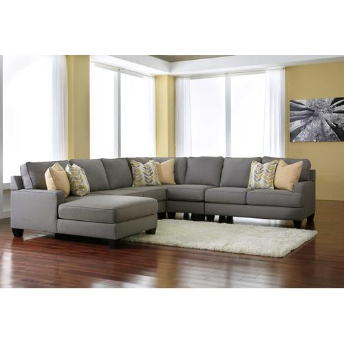 4 Piece Sectional with LAF Corner Chaise