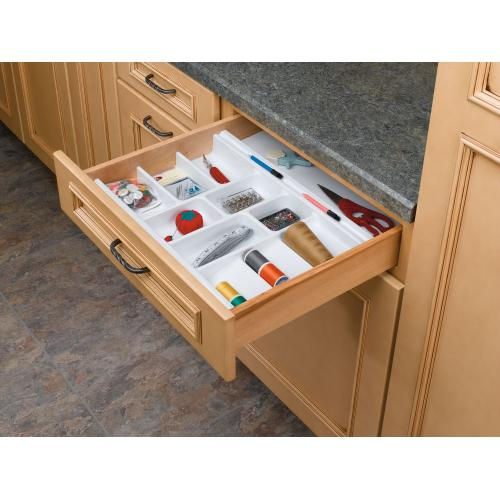 Rev-A-Shelf - COS-22W-52 - Large Cosmetic Rolling Tray