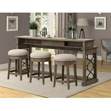 SUNDANCE - SANDSTONE Everywhere Console with 3 Stools