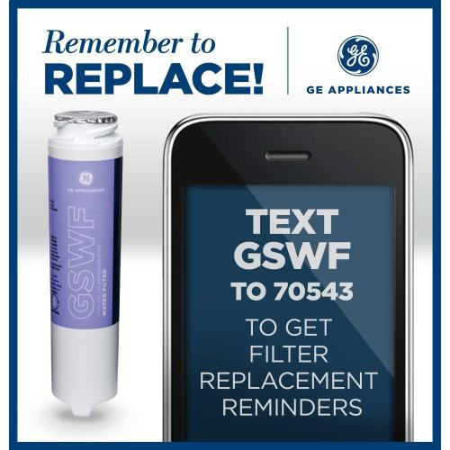 GE® GSWF REFRIGERATOR WATER FILTER