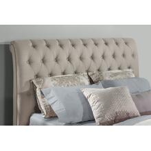 Napleton Queen Headboard - Dove Gray