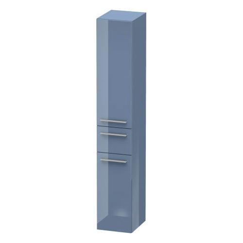 Tall Cabinet, Stone Blue High Gloss (lacquer)