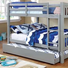 See Details - Cameron Full/full Bunk Bed, Gray