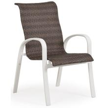 Woven Arm Dining Chair