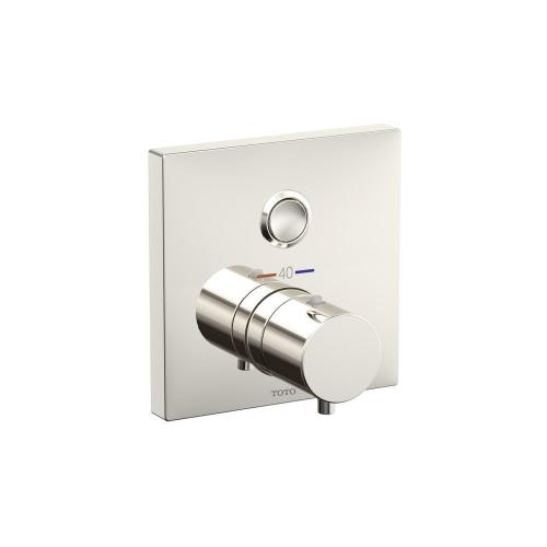 Thermostatic Mixing Valve 1-Function Trim - Polished Nickel