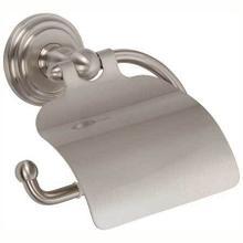 Satin Nickel Hooded Toilet Tissue Holder