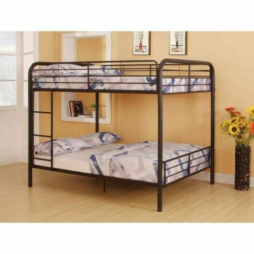 ACME Bristol Full/Full Bunk Bed - 37433 - Dark Brown