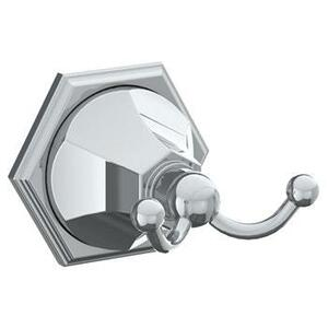 Wall Mounted Double Robe Hook Product Image