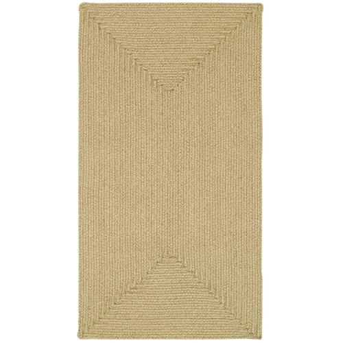 Heathered Beige Braided Rugs (Custom)
