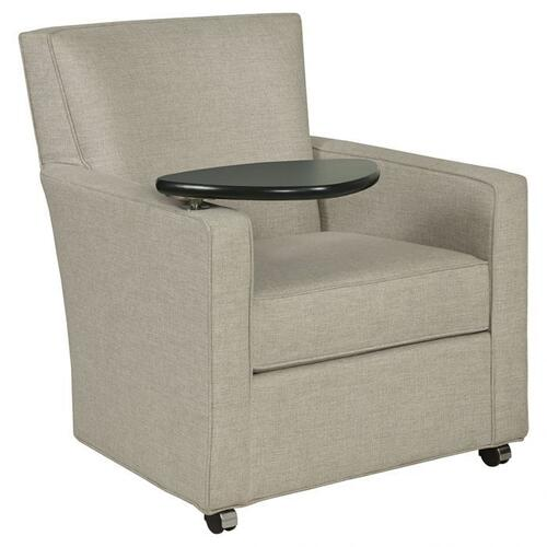 Fairfield - Craven Lounge Chair with Folding Tablet & Front Casters