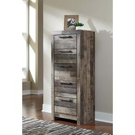 Derekson Narrow Chest Multi Gray
