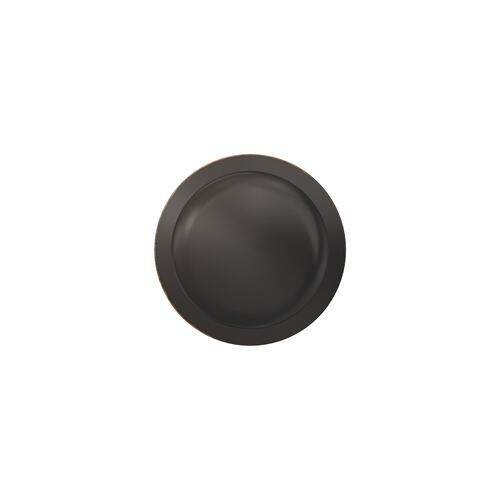 Custom Plymouth Non-Turning Knob with Kinsler Trim - Aged Bronze