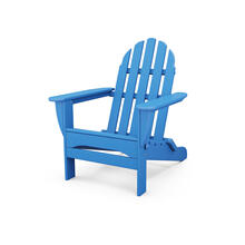 Pacific Blue Classic Folding Adirondack Chair