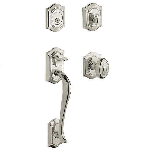 Polished Nickel with Lifetime Finish Bethpage Sectional Trim