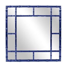 Bamboo Mirror - Glossy Navy