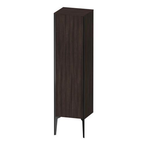 Duravit - Semi-tall Cabinet Floorstanding, Chestnut Dark (decor)