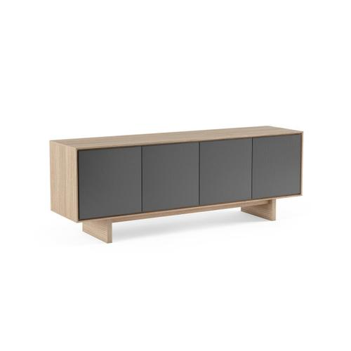 Quad Width Media Cabinet 8379 Gfl in Drift Oak