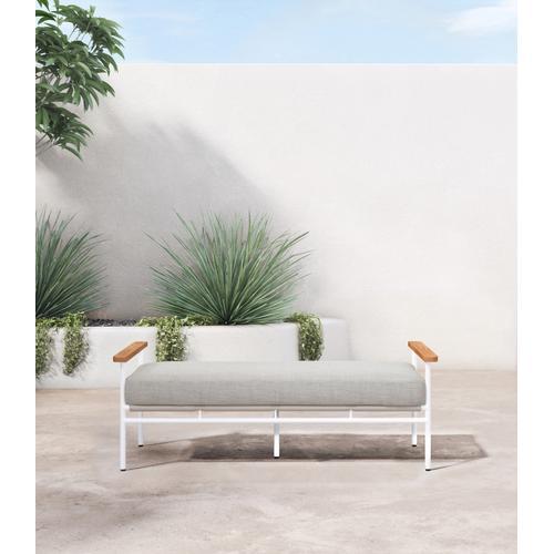 Stone Grey Cover Aroba Outdoor Bench