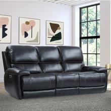 See Details - EMPIRE - VERONA BLACKBERRY Power Sofa