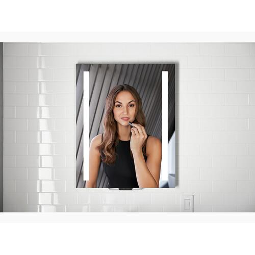 "Voice Lighted Mirror With Amazon Alexa, 24"" X 33"""