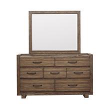 See Details - Woodbrook Mirror in Brown