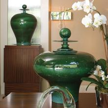 See Details - Happy Temple Jar-Emerald-Tall
