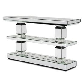 Mirrored 3-tier Console Table 226