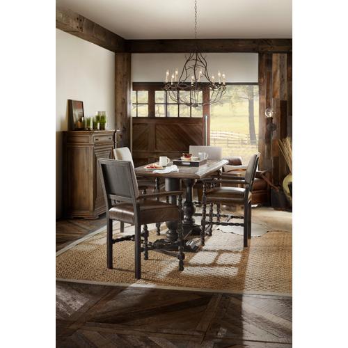 Hooker Furniture - Balcones 60in Friendship Table w/2-12in Leaves